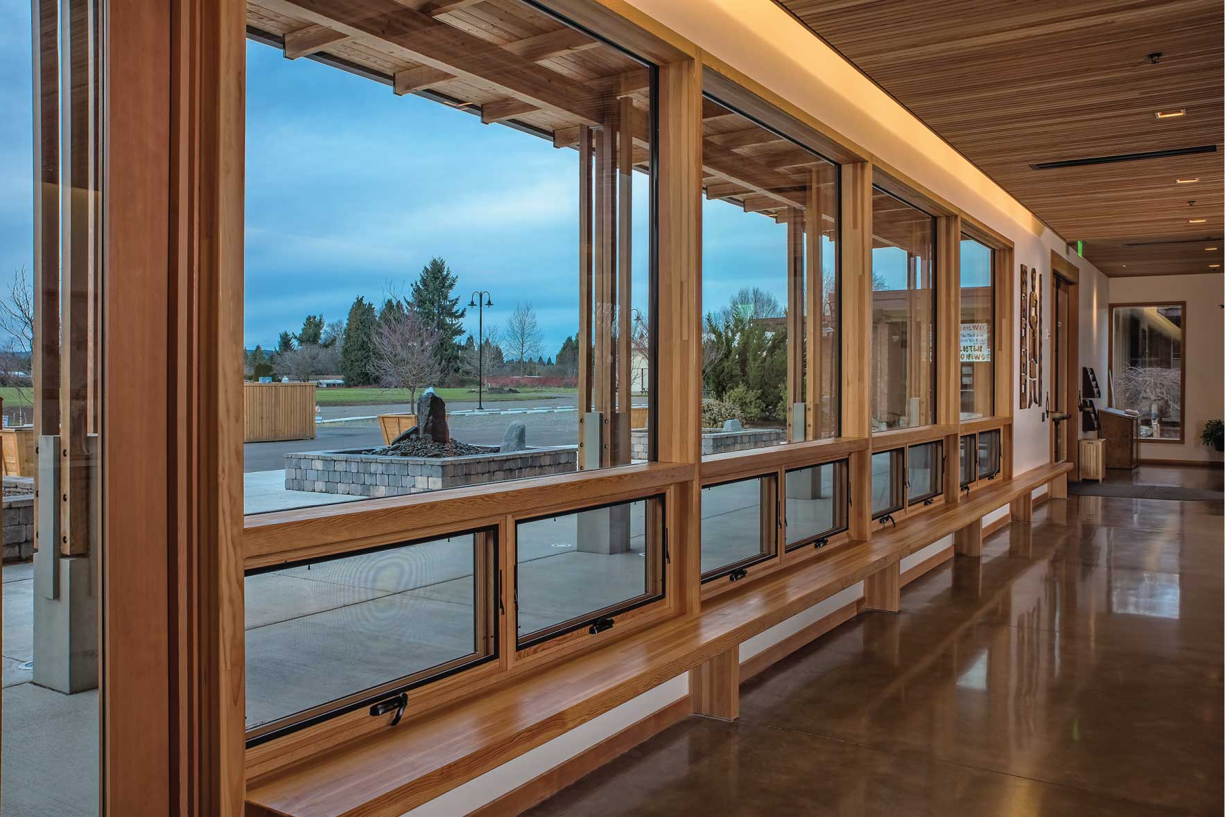 Sierra Pacific Windows Wall System Timber Curtain Wall