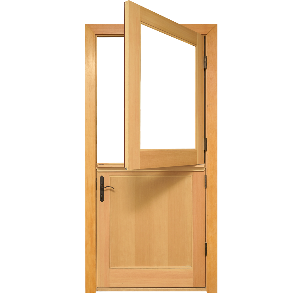 Sierra Pacific Windows Door Swinging Aluminum Clad Wood Dutch Door