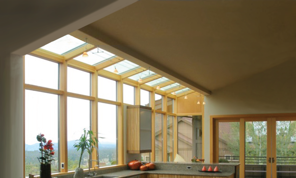 Sloped Glazing
